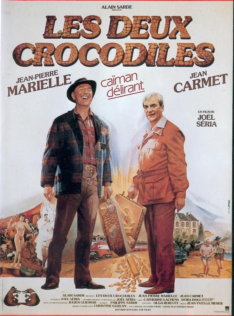 Les deux crocodiles affiche